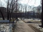 Екатерининский сад/парк в Москве Зима/Весна